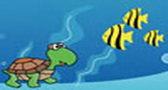 لعبة السلحفاه في أعماق البحر