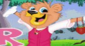 لعبة تلبيس الدب الضحوك