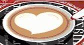 الرسم على القهوة مسلية
