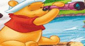 العاب فلاش اطفال تلوين ويني بوه Pooh and frinds coloring game