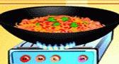 العاب بنات طبخ سباغيتي