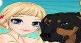 العاب البنات لعبة تيسا و الحيوانات الأليفه Girls games
