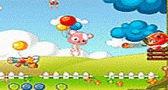 لعبة ضرب البالونات للاطفال