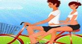 الخطيبين على دراجة