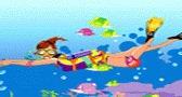 تلبيس البنت الغواصة