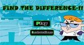 لعبة ايجاد الفروقات مختبر ديكستر للاطفال
