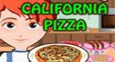 طبخ بيتزا كاليفورنيا