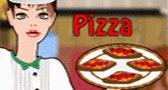 طبخ بيتزا فرنسية