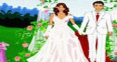 تلبيس العروسين للزفاف