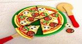 طبخ البيتزا بالخضروات