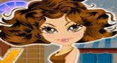 تلبيس البنت ام شعر منكوش
