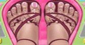 مكياج الأقدام للصيف