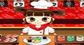 طباخة السوشي اليابانية