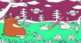 العاب بنات تلوين الغابة