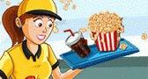 لعبة مطعم السينما